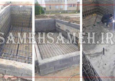 ساخت استخر در مازندران (ونوش – طرح مستطیلی)